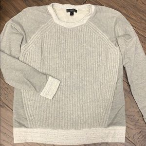 J Crew Sweater Front Sweatshirt